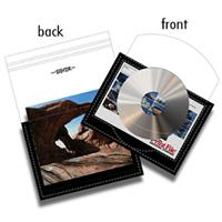 Print File CD/DVD Archival Storage Page, Holds 1-CD/DVD a...