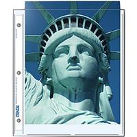 """Print File Photo Pages Holds Two 8.5x11"""" Prints, Pack of 25"""