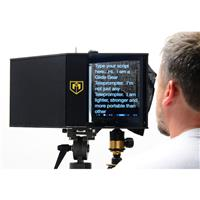 Face-2-Face Interview Periscope Teleprompter Hybrid
