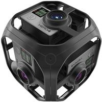 Omni Spherical Rig with 6 HERO4 Cameras (All Inclusive)