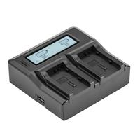 Dual Smart Charger with LCD Screen for Canon BP-800 Serie...