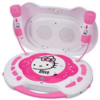 Hello Kitty KT2003CA CD Karaoke System/CD Player with AC ...