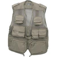 Cambridge Packing Humvee Combat Photo Vest - Khaki - Large