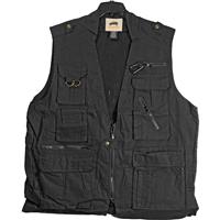 Cambridge Packing Safari Travel Vest - Black - X-Small