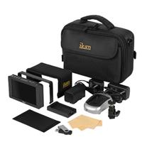 """IKAN DH5e 5"""" On-Camera Field Monitor Deluxe Kit, Includes..."""