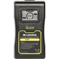 IKAN 14.8V Gold Mount Battery with LCD Display, 95Wh/ 6.6 Ah