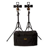 IKAN 2-Point On-Camera Light Kit, Includes 2x iLED6 Light...