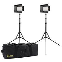 IKAN 2-Point LED Light Kit, Includes 2x Mylo Mini Bi-Colo...