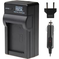 Adorama PT-95 AC/DC Rapid Battery Charger for Olympus BLN-1