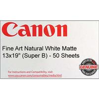 Canon Fine Art Natural White Matte Surface Inkjet Paper, ...