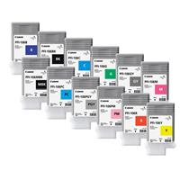 Canon Complete Set of 12 PFI-106 130ML Pigment Ink Tanks ...