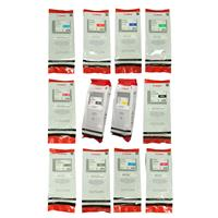 Canon Complete Set of 12 PFI-206 300ML Pigment Ink Tanks ...