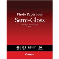 Canon Photo Paper Plus Semi-gloss SG-201 Inkjet Paper, 8....