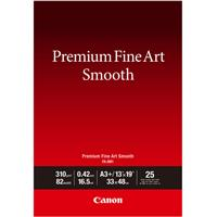 Canon Premium Fine Art Smooth Cotton Matte Inkjet Paper, ...