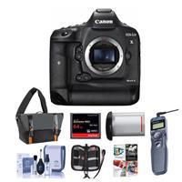 Canon EOS-1DX Mark II Digital SLR Camera - Bundle With 64...