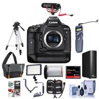 Canon EOS-1DX Mark II Digital SLR Camera - Bundle With 12...