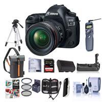 Canon EOS-5D Mark IV Digital SLR Camera Body Kit with EF ...