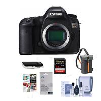 Canon 5DS DSLR Camera Body - Bundle with Camera Bag, 64GB...