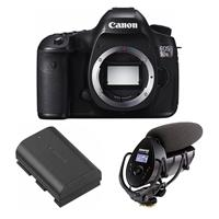 5DS R DSLR Camera Body, 50.6MP, Bundle With Shure VP83F L...