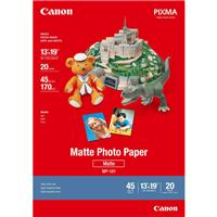 "Canon Matte Photo Inkjet Paper, 8.5 mil., 13x19"", 20 Sheets"
