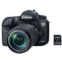 Canon EOS 7D Mark II Digital SLR Camera with EF-S 18-135m...