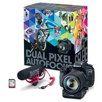 Canon EOS 80D DSLR Video Creator Kit - with EF-S18-135/3....