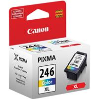 Canon CL-246 XL High Capacity Color Ink Cartridge for PIX...