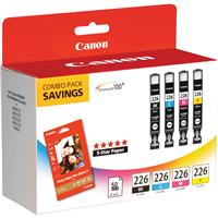 Canon CLI226 Inkjet Colorpack (Black, Cyan, Magenta, Yell...