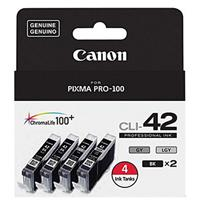 Canon CLI-42 Color 4 Ink Value Pack for PIXMA PRO-100 Pri...