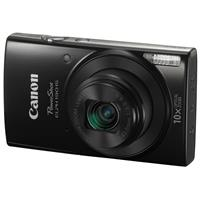 Canon PowerShot ELPH 190 Digital Point & Shoot Camera, Black