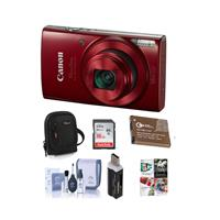 Canon PowerShot ELPH 190 IS 20MP Digital Camera, Red - Bu...