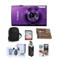 Canon PowerShot ELPH 360 HS 20.2MP Digital Camera, Purple...