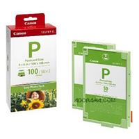 Canon Easy Photo Pack E-P100, Ink & Paper Set for 100 4x6...