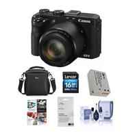 Canon PowerShot G3-X Compact Digital Camera - Bundle with...