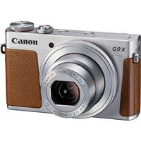 Canon PowerShot G9 X Digital Point & Shoot Camera, Silver