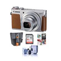 Canon PowerShot G9 X Ultra Slim Digital Camera, Silver - ...