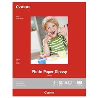 "Canon GP-701 Glossy Photo Paper, 200gsm, 8.5x11"", 100 Sheets"
