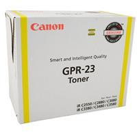 Canon GPR-23 Yellow Laser Toner Cartridge (14,000 Page Yi...