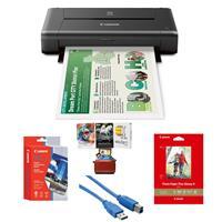 PIXMA iP110 Wireless Mobile Inkjet Color Photo Printer, -...