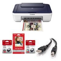 PIXMA MG3022 Wireless Inkjet All-in-One Printer - Bundle ...
