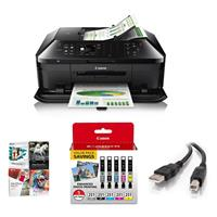 PIXMA MX922 Wireless Office All-in-One Printer, - Bundle ...