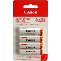 NB4-300 AA Rechargeable Batteries, Nickel Metal Hydride, ...