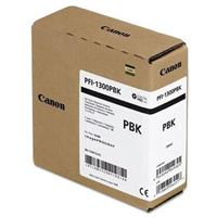Canon PFI-1300 330ml Photo Black Pigment Ink Tank for ima...