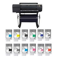 "Canon imagePROGRAF iPF6400 24"" Large Format Photo Printer..."