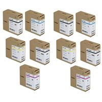 Canon 2 Pack PFI-110 160ml Pigment Ink Tank Bundle - Incl...