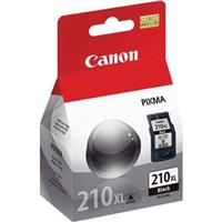 Canon PG-210XL Extra Large Black Ink Tank for Many PIXMA ...