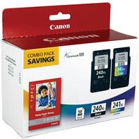 Canon PG-240XL/CL-241XL Black & Color Ink Cartridges and ...