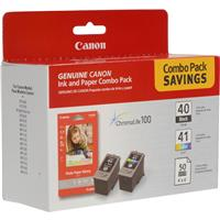 Canon Combo Value Pack PG-40 Black Ink Cartridge with Glo...