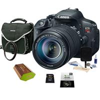 Canon EOS Rebel T5i Digital SLR Camera with EF-S 18-135mm...