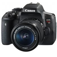 Canon EOS Rebel T6i DSLR with EF-S 18-55mm f/3.5-5.6 IS S...